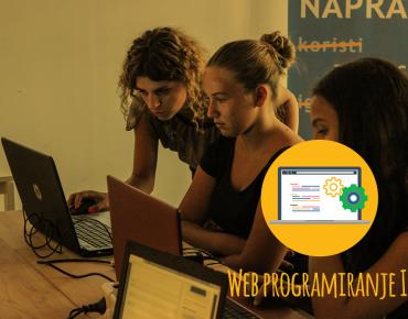 Web programiranje I – moj prvi web sajt