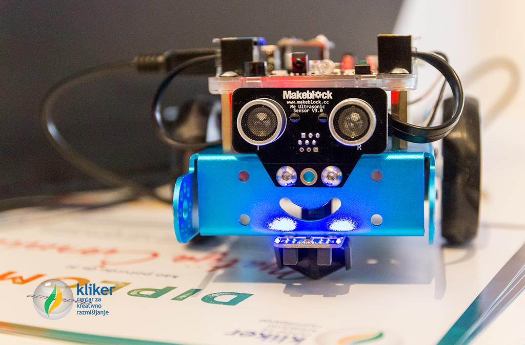 Kliker it centar za decu mbot robot