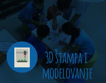 Kurs 3D štampe i modelovanja