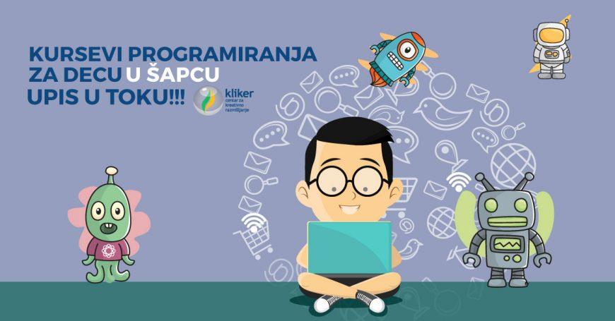 Prolećni kursevi programiranja za decu u Šapcu – 24.3.2018.