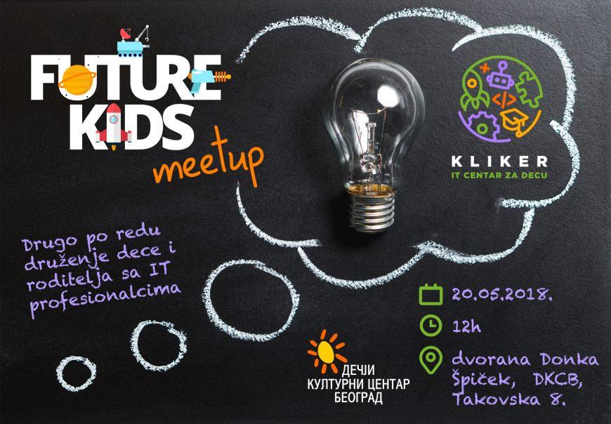 Future Kids Meetup #2 – druženje dece i roditelja sa IT profesionalcima