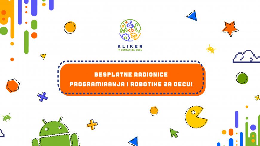 Besplatne radionice programiranja i robotike na Senjaku – nedelja 18.10.2020.